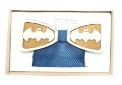 Fa csokornyakkendő szett - Batman mintás Csokornyakkendők