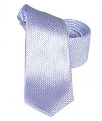 Goldenland slim nyakkendő - Lila aprómintás Egyszínű nyakkendők