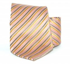 G.L selyemnyakkendő  - Lazac csíkos Selyem nyakkendők