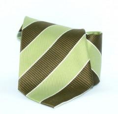 G.L selyemnyakkendő  - Zöld-barna csíkos