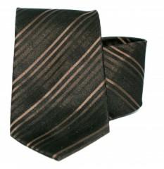 G.L selyemnyakkendő  - Barna csíkos Selyem nyakkendők