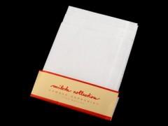 Zsebkendő szett 6 db-os - Fehér Pamut zsebkendő
