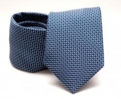 Prémium nyakkendő -  Kék kockás