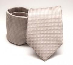 Prémium nyakkendő -  Natur kockás