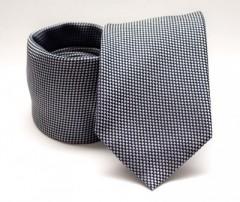 Prémium nyakkendő -  Sötétkék aprómintás