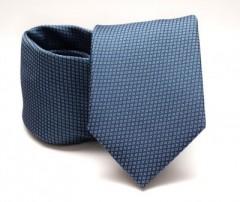 Prémium nyakkendő - Kék aprómintás