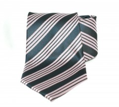 Goldenland nyakkendő - Fekete-rózsaszín csíkos
