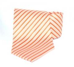 Goldenland nyakkendő - Narancssárga csíkos