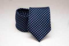 Prémium nyakkendő -  Sötétkék aprókockás