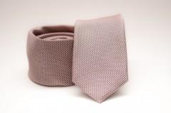Prémium slim nyakkendő - Púder aprómintás