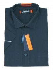 Goldenland rövidujjú ing - Sötétkék Normál fazon