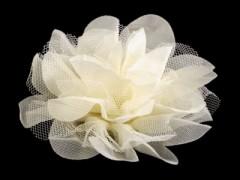 Szifon virág - Ecru