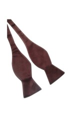 Köthető csokornyakkendő - Sötétbarna Csokornyakkendők
