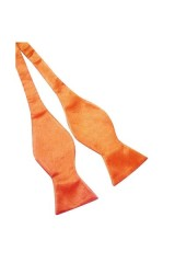 Köthető csokornyakkendő - Narancssárga Csokornyakkendők