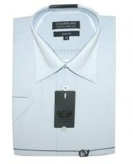 Goldenland slim rövidujjú ing - Halványkék Rövidujjú ing