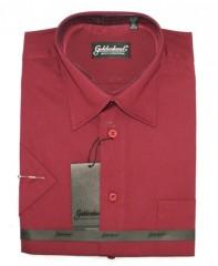 Goldenland rövidujjú ing - Bordó Rövidujjú ingek