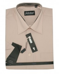 Goldenland rövidujjú ing - Drapp-Púder