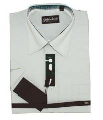 Goldenland rövidujjú ing - Halványszürke