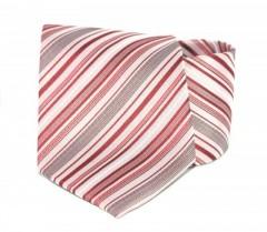 Goldenland nyakkendő - Meggybordó csíkos