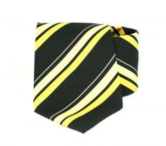 Goldenland nyakkendő - Sárga-fekete csíkos